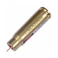 Качественный лазерный патрон для холодной пристрелки (калибр: 7.62x39mm) из латуни. Доступная цена. Код: КГ347