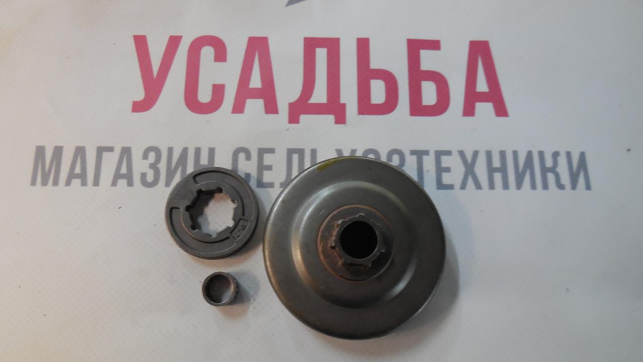 Барабан муфти зчеплення (з кільцем) на бензопилу Stihl 180 крок 3/8