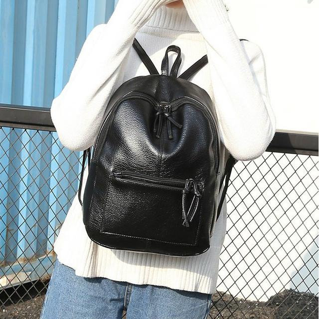Женский рюкзак из кожзама для девушки