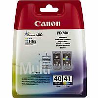 Canon PG-40Bk/CL-41 Набор Картриджей (0615B043) Black, Color Multi Pack