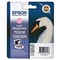 Epson T1116 Картридж Light Magenta (Светло Красный) повышенной емкости (C13T11164A10)