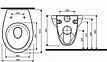 КОМПЛЕКТ УНІТАЗ IDOL, інсталяція VIEGA STANDART (3 В 1 ) 310001U+713386+801338N04P, фото 2