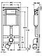 КОМПЛЕКТ УНІТАЗ IDOL, інсталяція VIEGA STANDART (3 В 1 ) 310001U+713386+801338N04P, фото 3