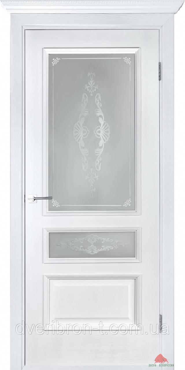 Двери Белоруссии Вена ПО белый ясень