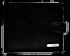 Кожаный мужской кошелек KARYA черного цвета QAD-001003