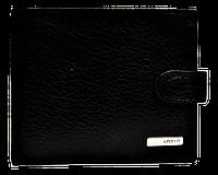 Кожаный мужской кошелек KARYA черного цвета QAD-001003, фото 1