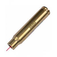Красный лазерный патрон для холодной пристрелки (калибр: 8mm). Качественный. Хорошая цена. Код: КГ348