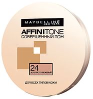 Maybelline пудра для лица компактная Affinitone №24, золотисто-бежевый