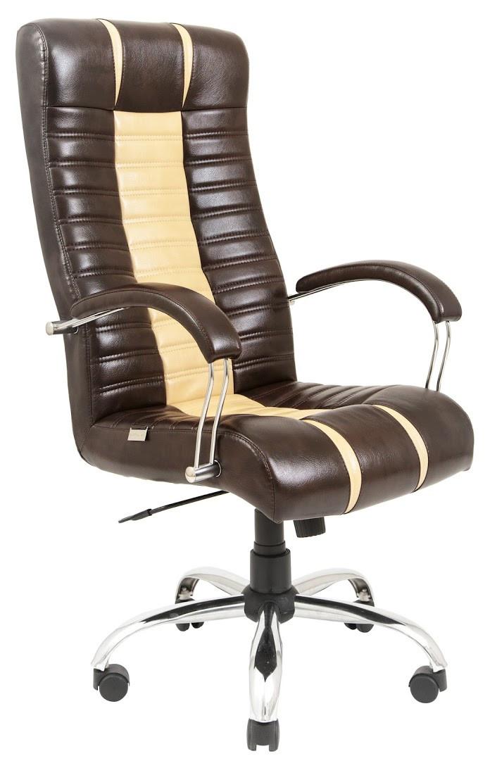 Компьютерное Кресло Атлант (Хром) 2кат