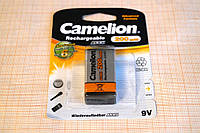 Аккумулятор Camelion крона 9V Емкость 200 mAh, Ni-MH
