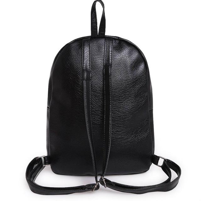 модный рюкзак из кожзама