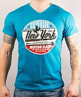 Молодежная футболка с надписью New York