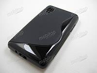 Полимерный TPU чехол LG Optimus L4 II E440 (черный)