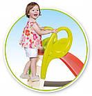 Горка детская пластиковая Smoby 150 см спуск для детей, фото 5