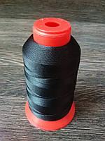 Нитка швейная TYTAN N40 Black цвет черный 1000м. Турция