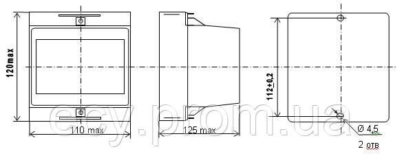 Е855/7-Ц - Измерительный преобразователь напряжения переменного тока (цифровой), фото 2