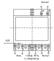 Е855/9-Ц - Измерительный преобразователь напряжения переменного тока (цифровой), фото 3