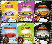 DreamWorks FILMS - DIECAST Набор автомобиля - Модель Tigress