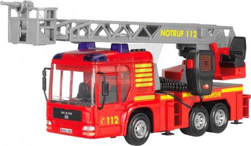 Игрушка Пожарная машина Dickie с рацией, звуком и водным эффектом, 3716003 Dickie toys