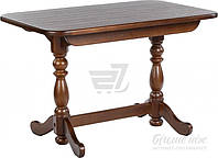 Обеденный деревянный стол стиль классический раздвижной орех 160 см
