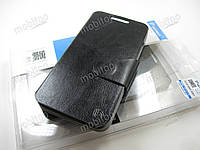 Кожаный чехол HTC Desire 300 / 301e (черный)