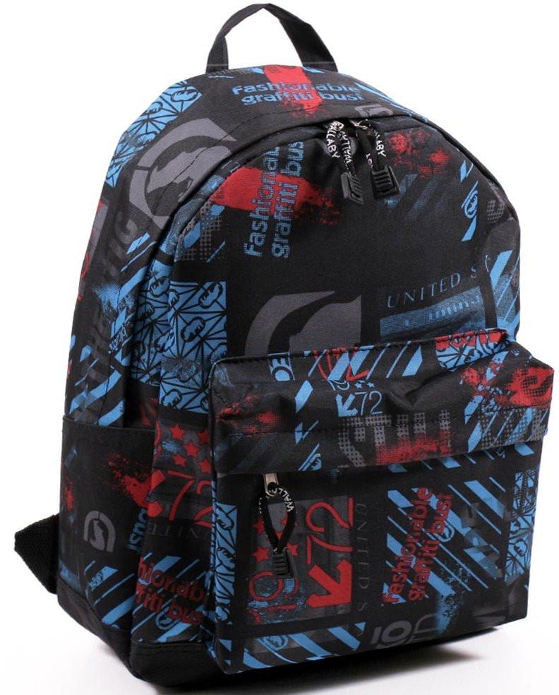 Рюкзак городской, Wallaby, 1353-1 разноцветный 9 л