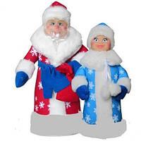 """Мягкая игрушка """"Дед Мороз и Снегурочка"""",  В010/В011"""