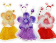 Набор бабочки: крылья 38*39см, обруч, юбка, палочка, 6098-4