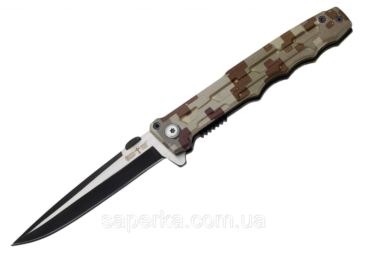 Нож универсальный с фальшлезвием Grand Way 6686 N