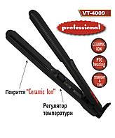 Утюжок плойка для волос Vitalex VT-4009, выпрямитель для волос