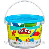 Игровой набор Play Doh Мини ведерко Цифры Hasbro 23326