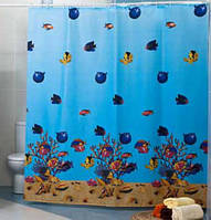 Штора для ванной комнаты MIRANDA Red sea, фото 1