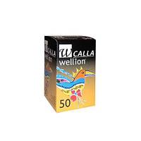 Тест-полоски Wellion Calla Light , 50 шт. (Австрия)