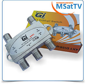 DiSEqC Switch 4x1 Gi A401, фото 2