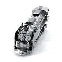 Конструктор металлический 3D Паровоз Steam Locomotive MMS033