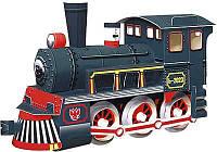 Картонная модель паровоза 037 УмБум