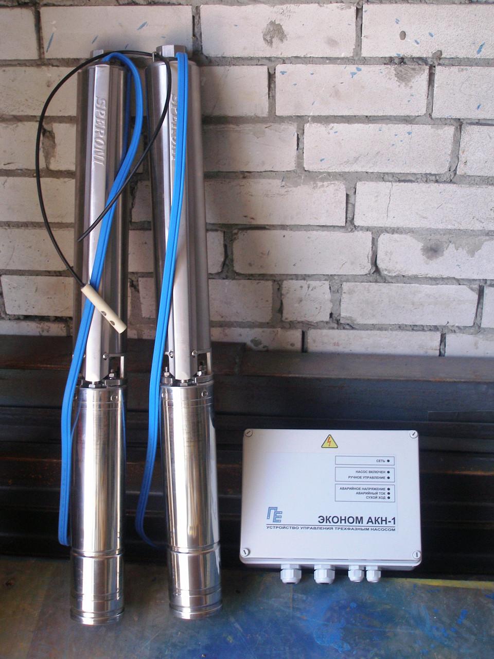 Многоступенчатый погружной насос для скважин Speroni SPM 70-08
