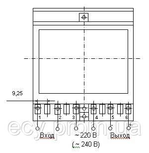Е855-М1 - измерительный преобразователь напряжения переменного тока, фото 2