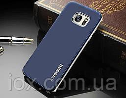 Синий чехол-накладка NKOBEE для Samsung Galaxy S7