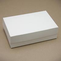 Коробка 23х15х6см. (без окошка белая)