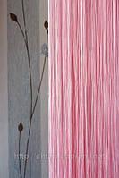 Шторы-нити Однотонные Люкс №5 (розовый)