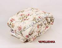 Полуторное одеяло бязь/шерсть 001