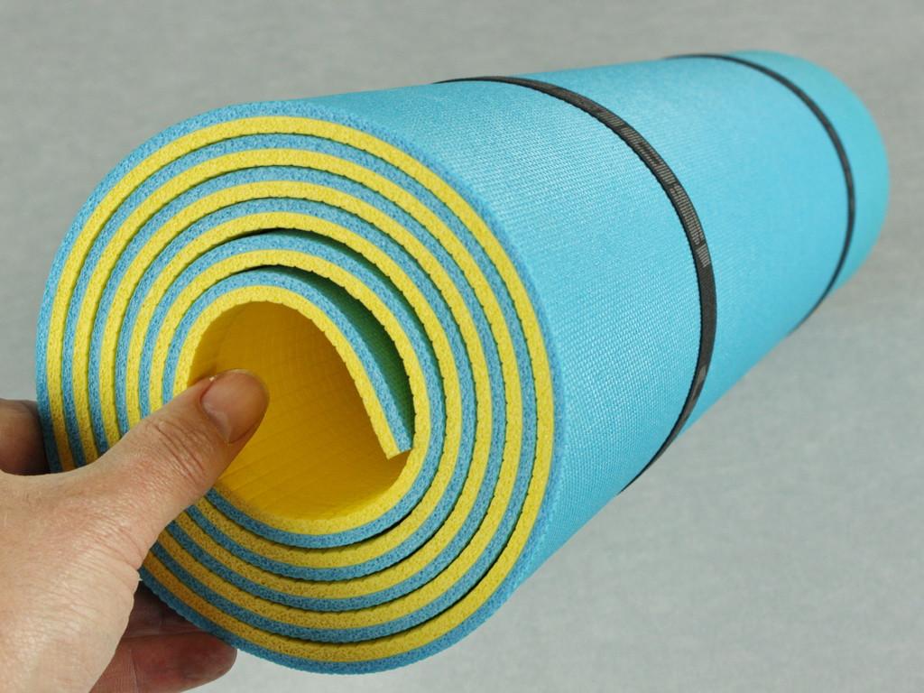 Коврик туристический, походный Optima Plus 8, размер 60 х 180 см, толщина 8 мм.