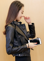 Жіноча шкіряна куртка. Модель 2032, фото 3