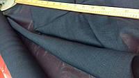 """Ткань льняная """"марля"""" для декорирования интерьеров, пошива гардин и штор (чернильный)"""