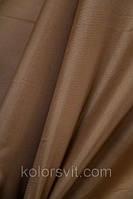 Ткань Шифон для декора окон и помещений, светло-коричневый