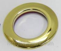 Люверсы пластиковые для портьер и гардин глянцевое золото