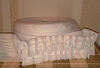 Тесьма для штор тканевая