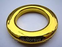 Люверсы пластиковые для портьер и гардин глянцевое золото 2