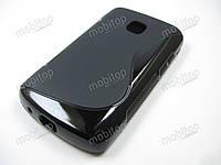 Полимерный TPU чехол LG Optimus L1 II E410 (черный)